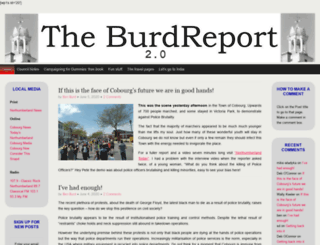 burdreport.ca screenshot