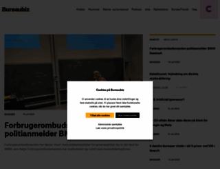 bureaubiz.dk screenshot