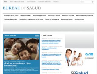 bureaudesalud.com screenshot