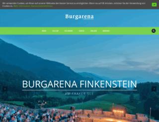 burgarena.at screenshot