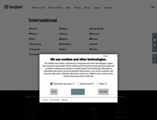 burgbad.com screenshot