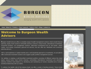 burgeonwealthadvisors.com screenshot