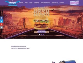 burgerfuel.com screenshot