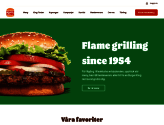 burgerking.se screenshot