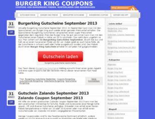 burgerkingcoupon.bplaced.net screenshot