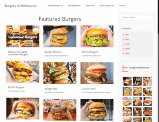 burgersofmelbourne.com.au screenshot