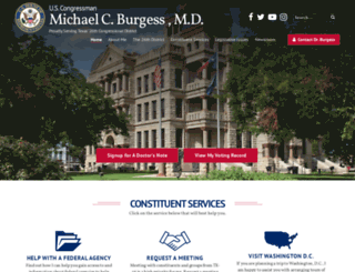 burgess.house.gov screenshot