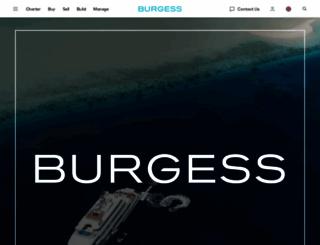 burgessyachts.com screenshot