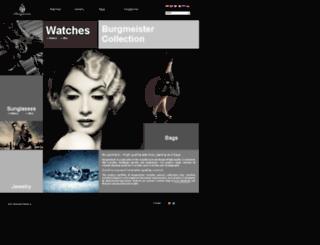 burgmeister.co.uk screenshot