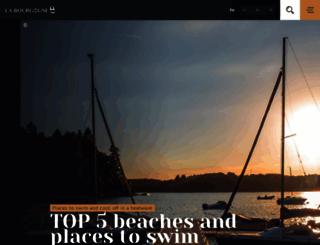 burgundy-tourism.com screenshot