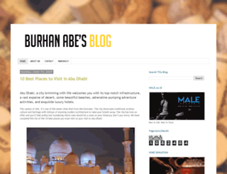 burhanabe.com screenshot