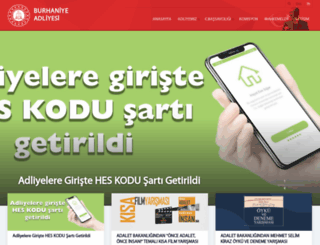 burhaniye.adalet.gov.tr screenshot