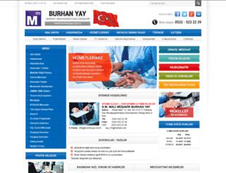 burhanyay.com.tr screenshot