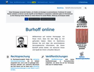 burhoff.de screenshot