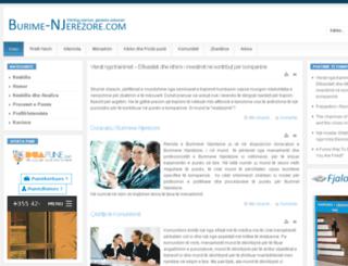 burime-njerezore.com screenshot