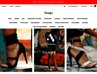 burjushoes.com screenshot