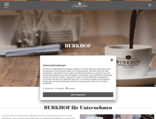 burkhof.com screenshot