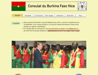 burkinafaso-cotedazur.org screenshot