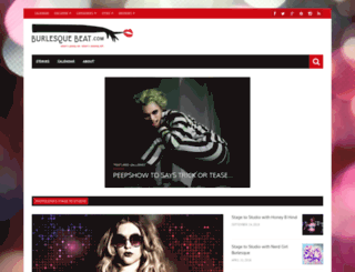 burlesquebeat.com screenshot