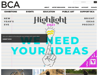 burlingtoncityarts.com screenshot
