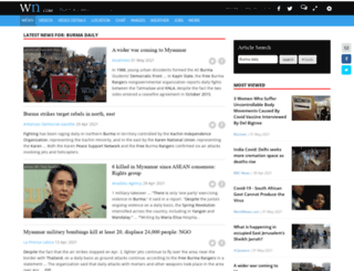 burmadaily.com screenshot