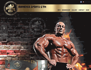 burneikasportsgym.com screenshot