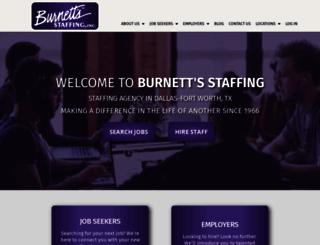 burnetts.com screenshot