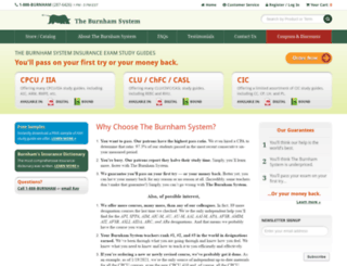 burnhamsystem.com screenshot