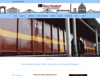 burnstandard.com screenshot