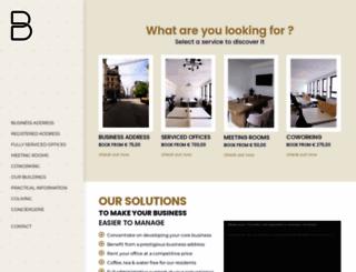 burotel.be screenshot