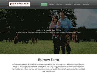 burrowfarm.com screenshot