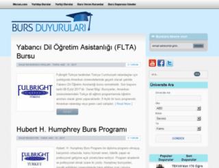 burs.mezun.com screenshot