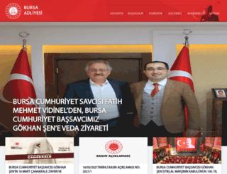 bursa.adalet.gov.tr screenshot
