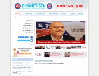 bursa1.diyanetsen.org.tr screenshot