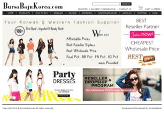 bursabajukorea.com screenshot