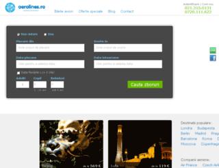 bursabileteavion.ro screenshot