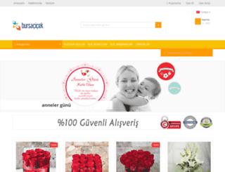 bursacicek.com.tr screenshot
