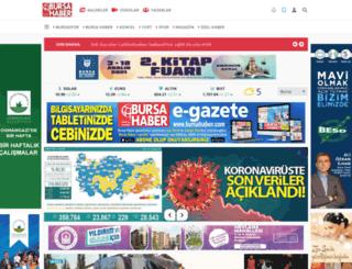 bursahaber.com.tr screenshot