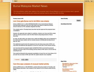 bursamynews.blogspot.com screenshot