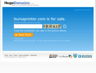 bursaprinter.com screenshot