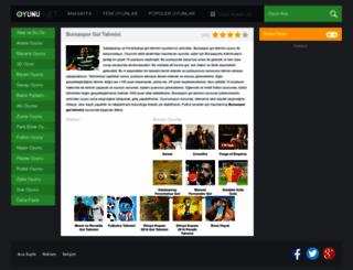 bursasporgoltahmini.oyunu.net screenshot