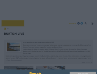 burtonmail.co.uk screenshot