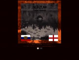 burzum.org screenshot