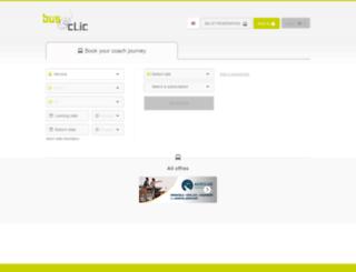 bus-et-clic.com screenshot