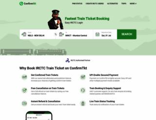 bus.confirmtkt.com screenshot