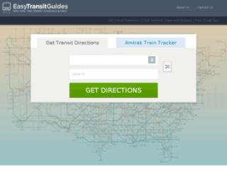 bus.easytransitguides.com screenshot