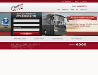 busbol.com screenshot