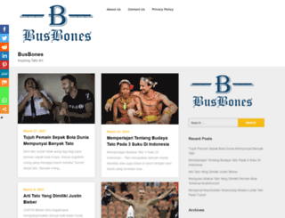 busbones.com screenshot