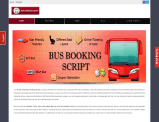 busbookingscript.in screenshot