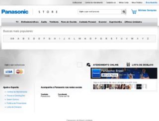busca.panasonic.com.br screenshot